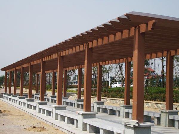 防腐木长廊系列