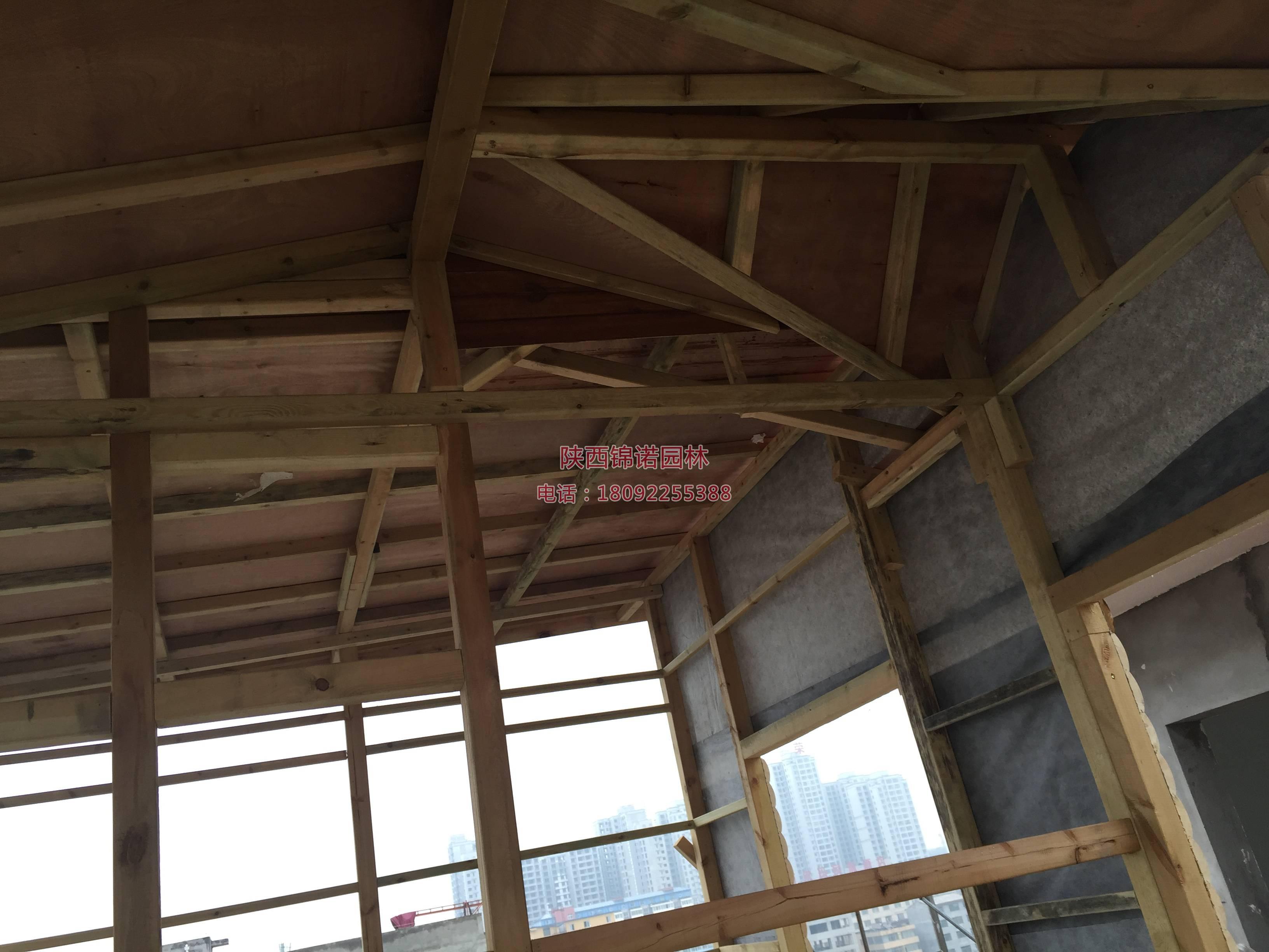 铜川耀州区楼顶木屋01