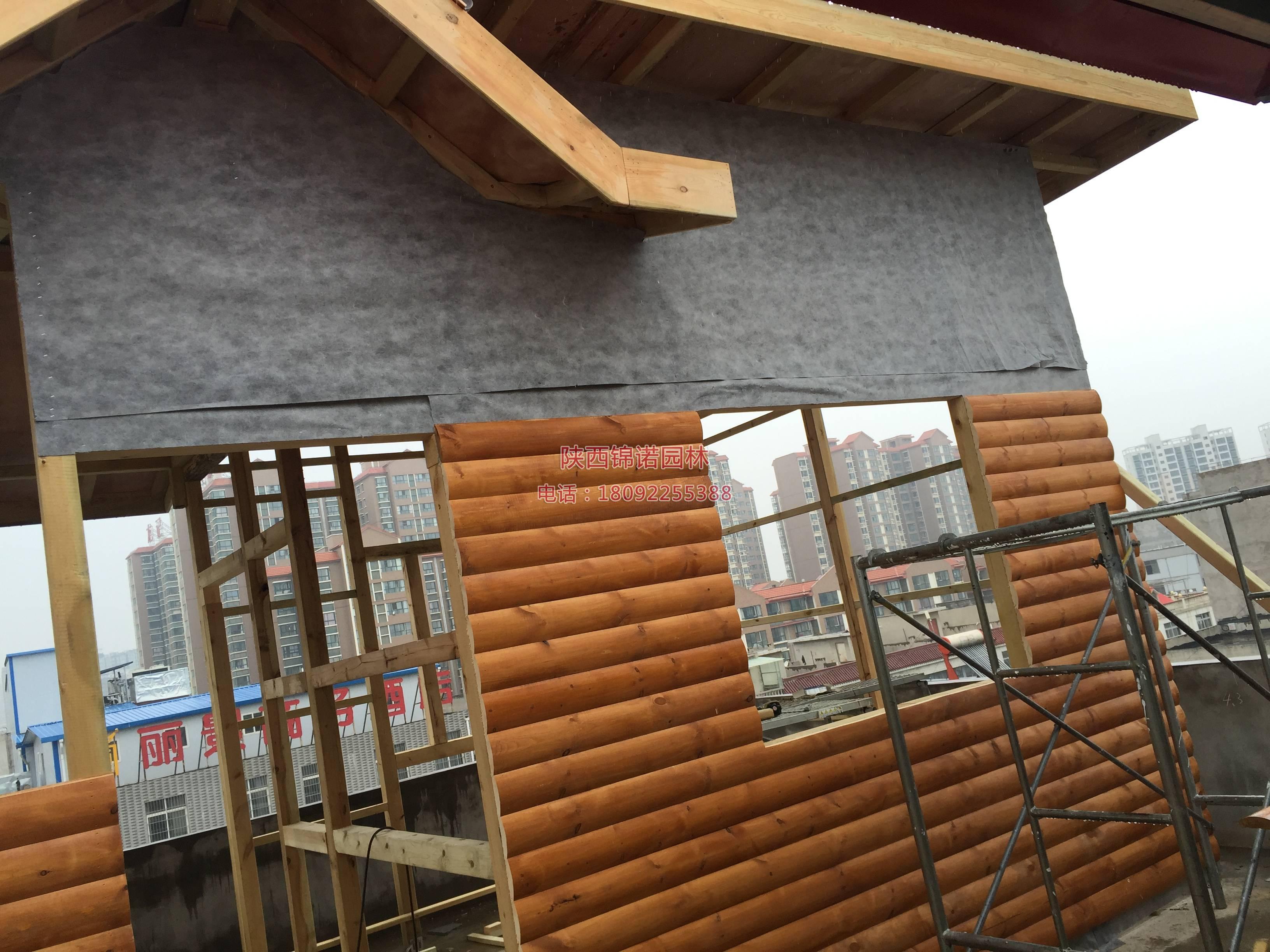 铜川耀州区楼顶木屋02