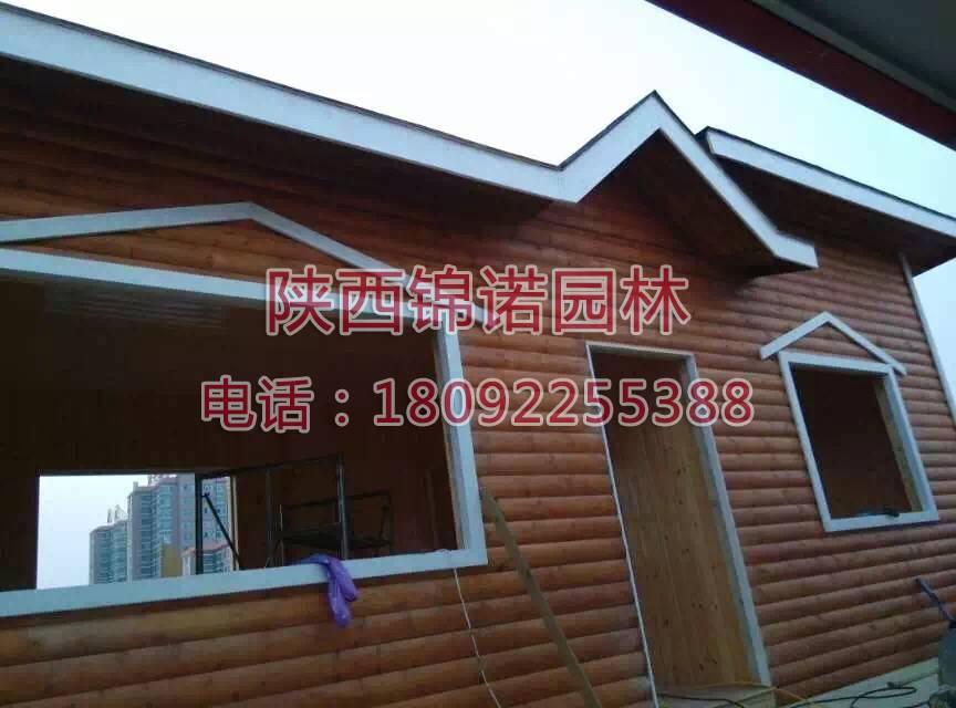 铜川耀州区楼顶木屋06