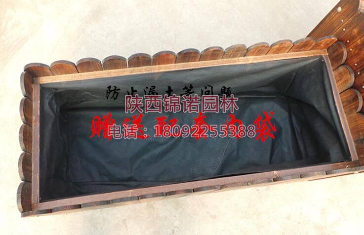 长方形防腐木花箱01