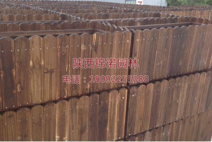 长方形防腐木花箱05